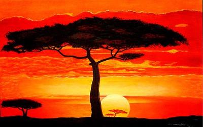 s.africa.sunset